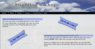 Flightlog Backup